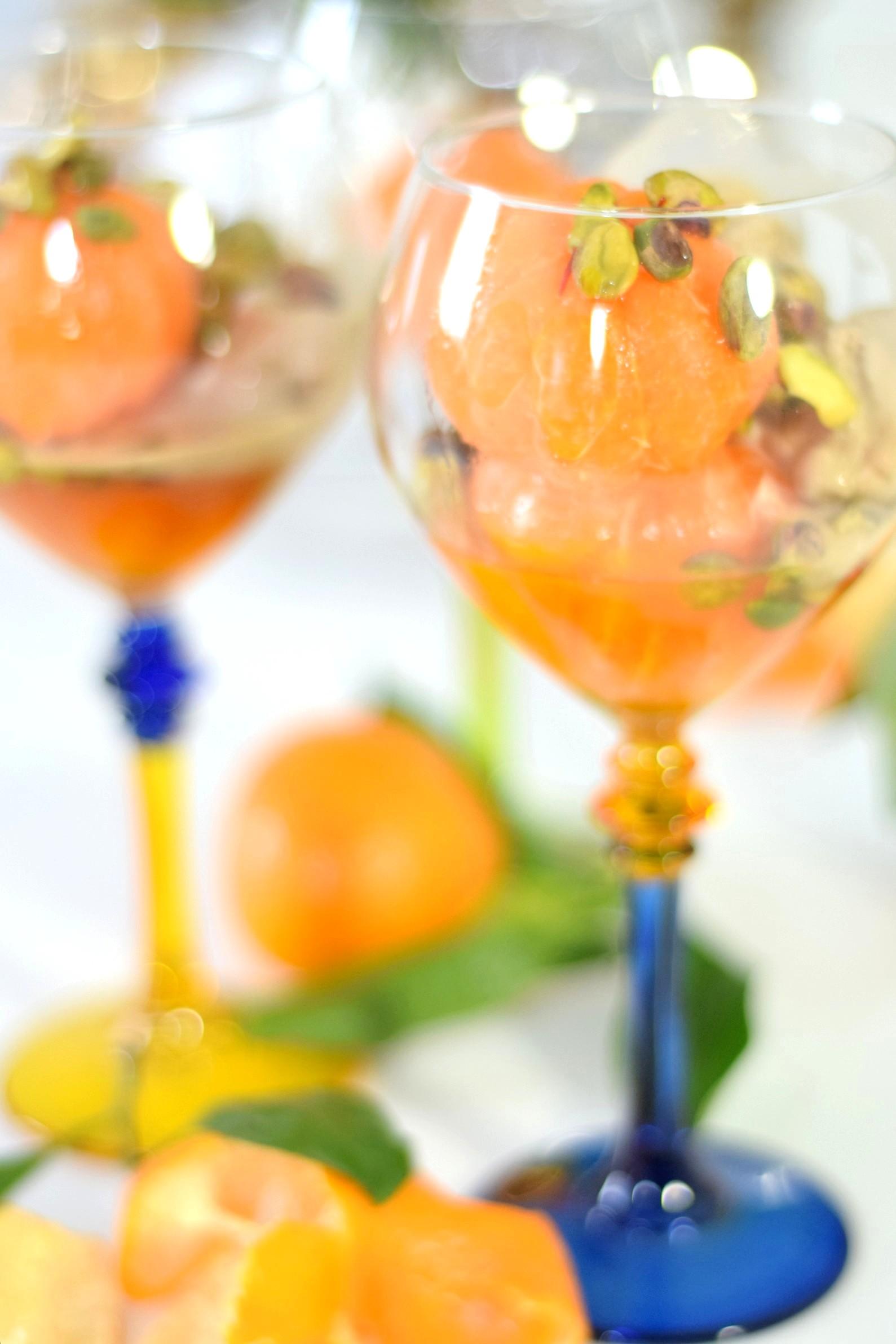 fresh mandarin dessert recipe