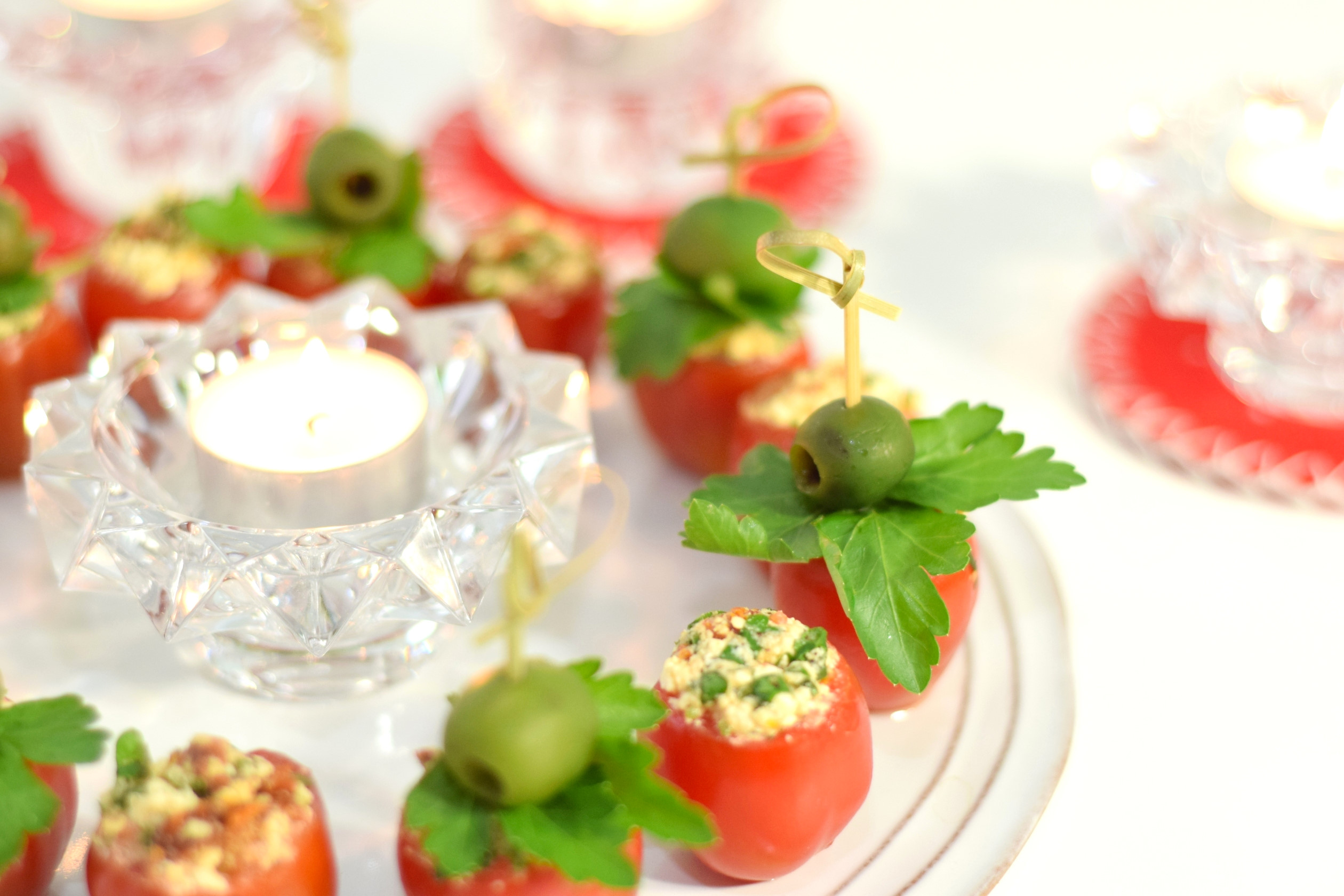 stuffed tomato appetizer recipe