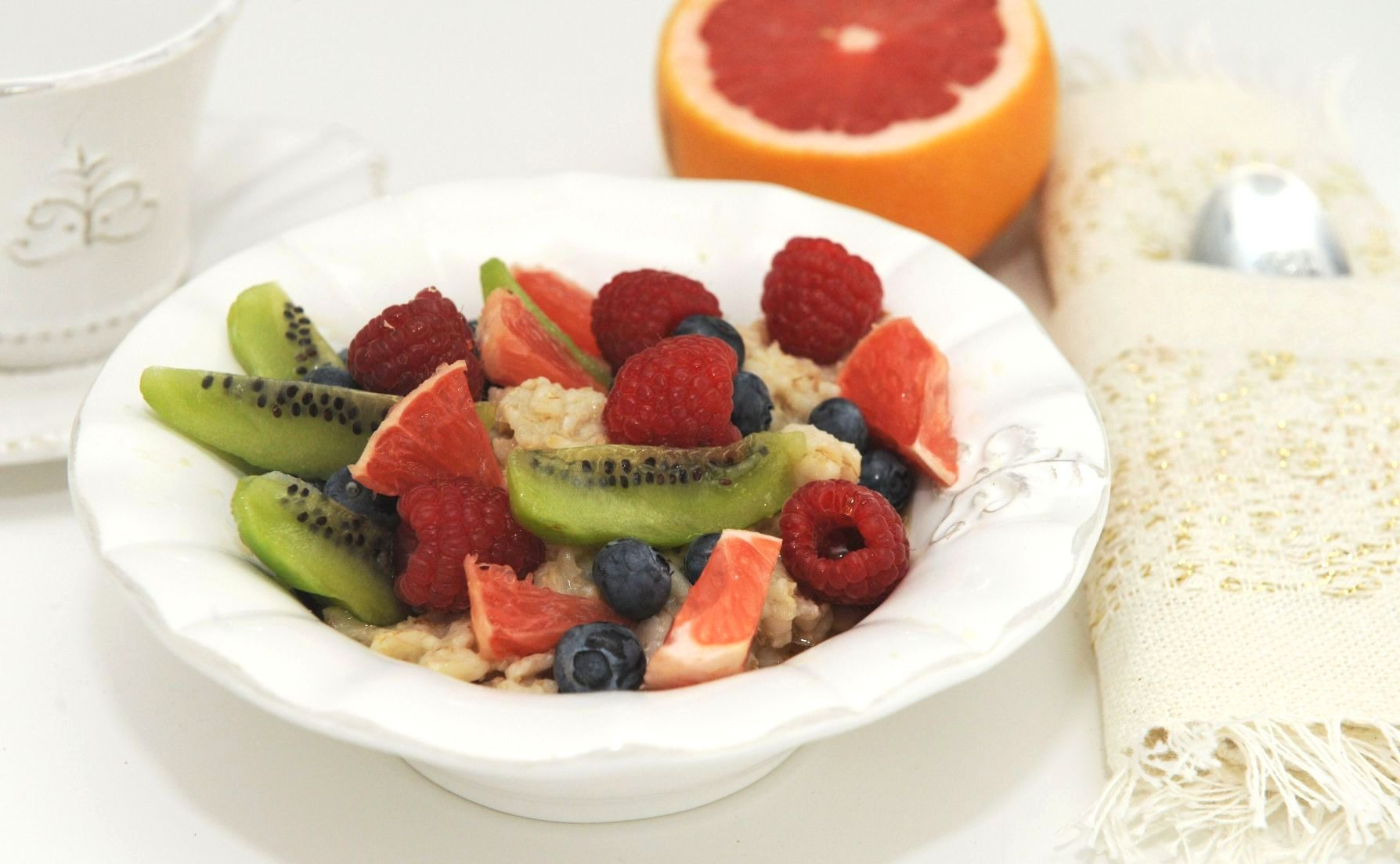 fruit berry oatmeal recipe