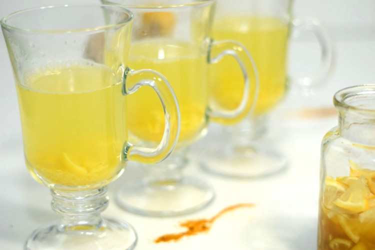 Handy Turmeric Ginger Tea Mix