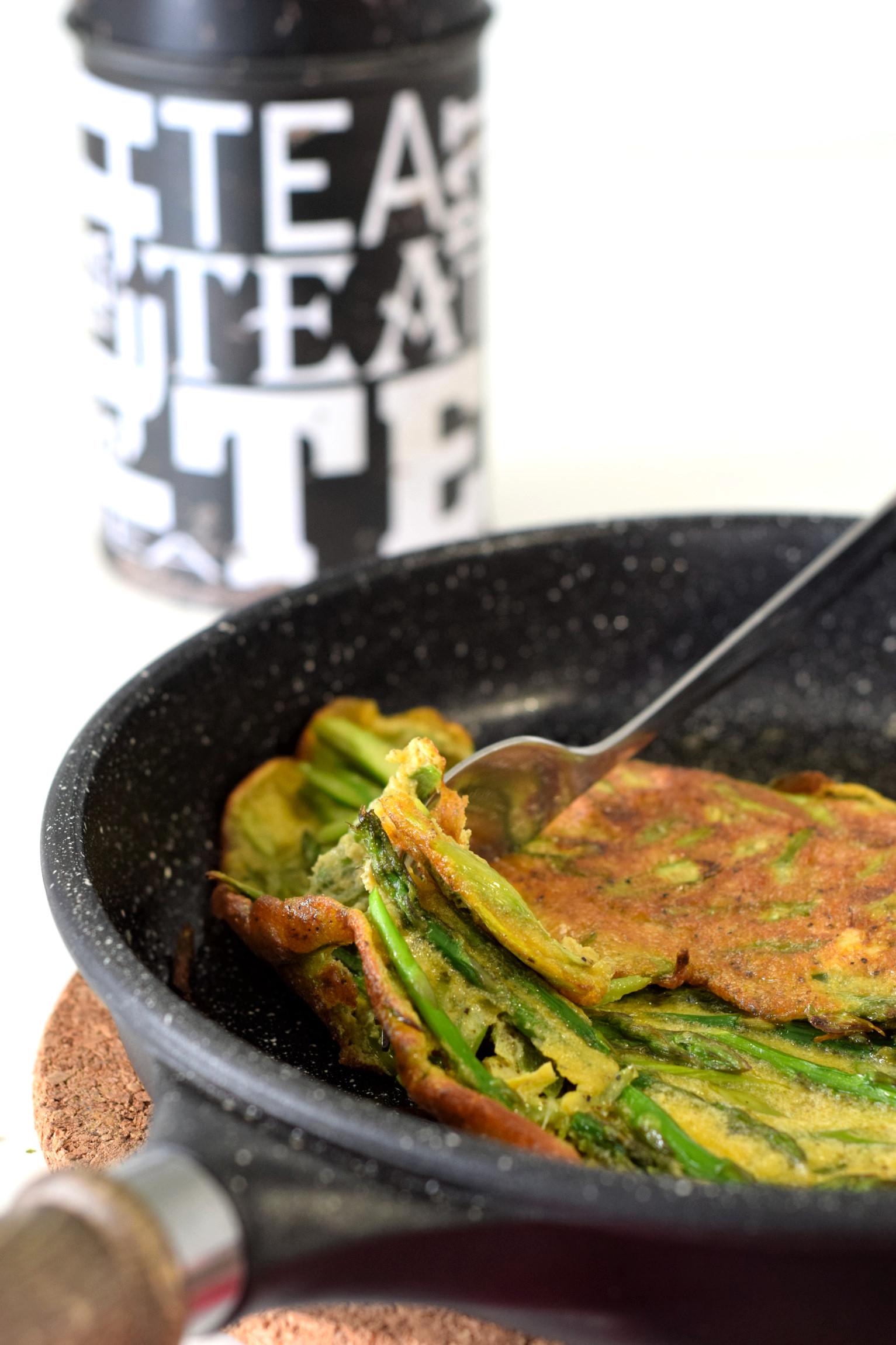simple asparagus omelette recipe02