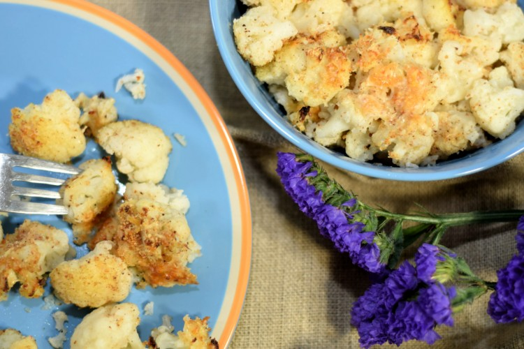 A Simple Cauliflower Gratin