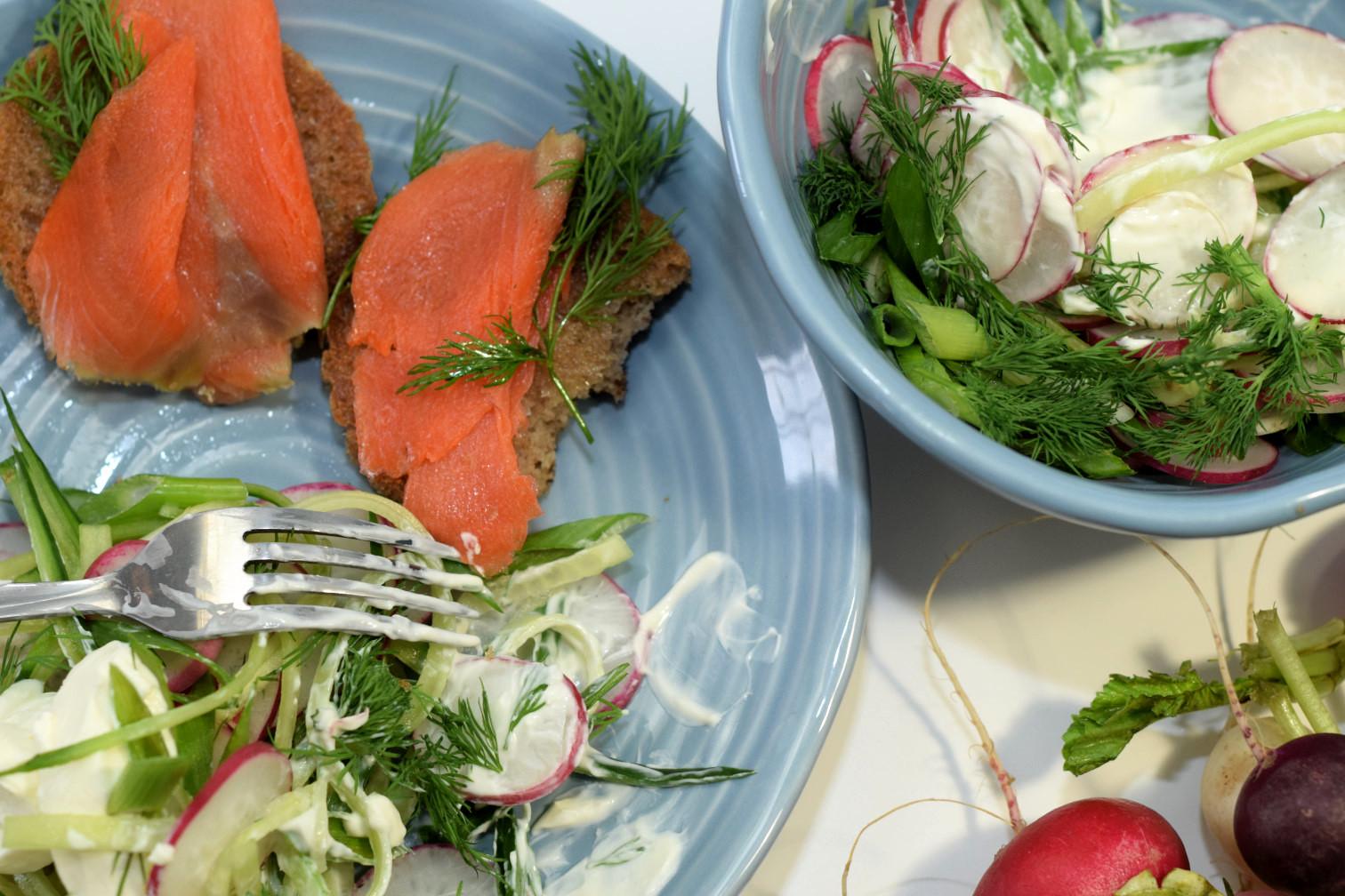 spring cucmber radish salad recipe05
